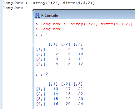 long.box array